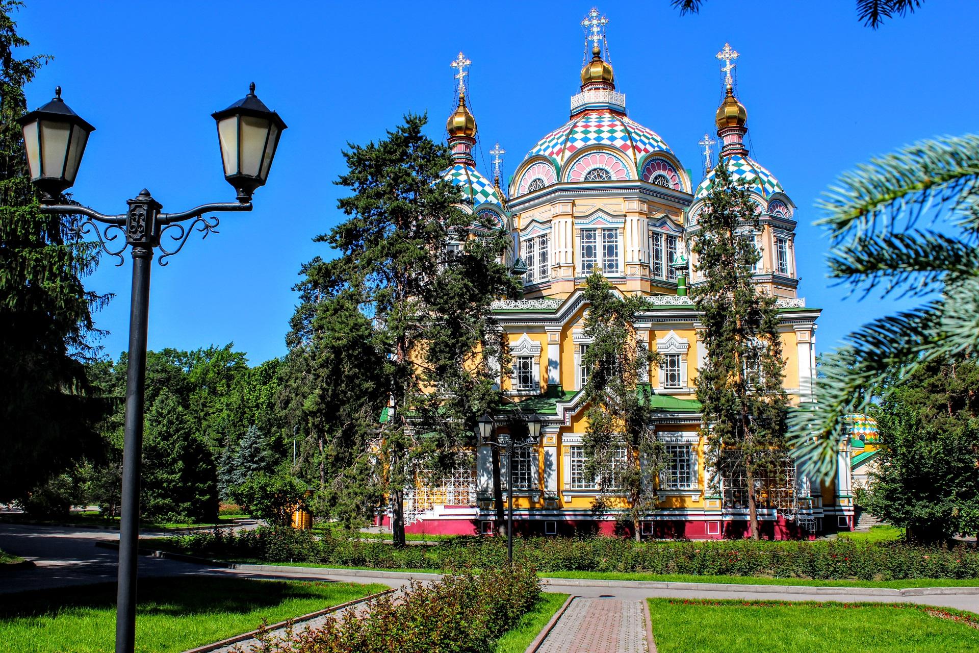 Алматы - Алтын-Емель - Кольсайские озера